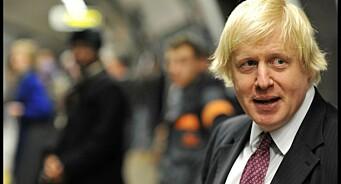 Boris Johnson fikk pris for beste Erdogan-fornærmelse med et dikt om en wanker fra Ankara