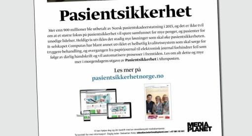 Derfor ble Aftenposten felt for Mediaplanet-bilag. Her er PFUs uttalelse - og redaktørenes dissens