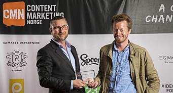 Trigger-Preben og Hans-Petter kåret til «årets tankeledere» innen content marketing