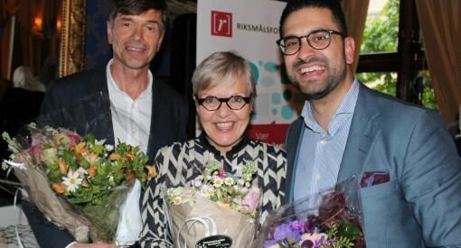 Riksmålsforbundets mediepriser til Kjetil Rolness, Yama Wolasmal og Lisbeth David-Andersen