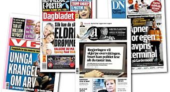 Stopp støtta til nynorsk-diskriminerande riksaviser