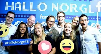 Her er gjengen som skal serve Facebooks norske kunder. Og «stjele» enda mer fra tradisjonelle medier