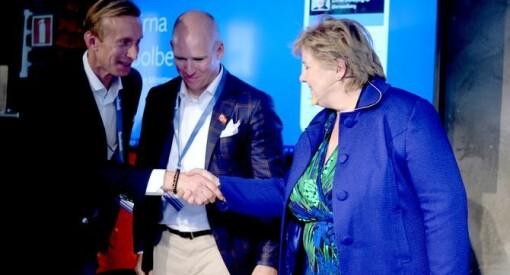Hans-Petter svarer Preben Carlsen: «Oppsiktsvekkende mye mas om Ernas Facebook-besøk»