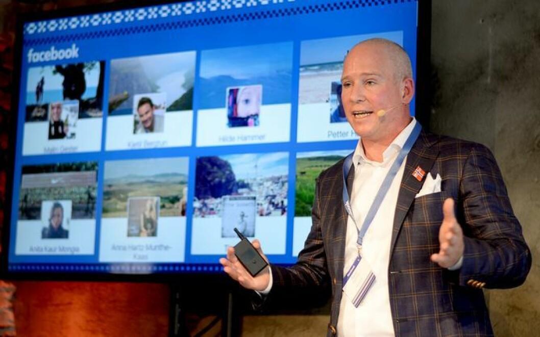 Rune Paulseth er sjef for Facebook i Norge.