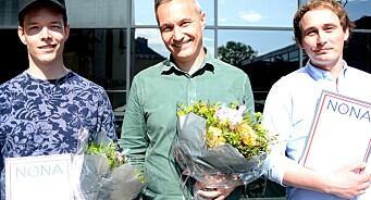 Én pris til VG og to til Teknisk Ukeblad. Svein-Erik Hole er Årets netthode
