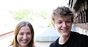Trigger henter nye talenter rett fra skolebenken: Mats Abrahamsen og Gunnhild Sletten Gundersen på laget