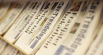 Flere følger etter og kutter frekvens: Sør-Trøndelag går fra fem til tre aviser i uka