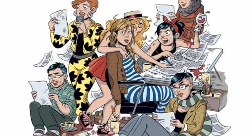 Vil løfte fram kvinnelige serietegnere: «Rocky» inviterer til gjesteserie og Strand lyser ut stipend