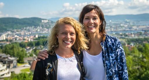 Begge kvinnelig medieleder-prisene kan havne i Drammen: Både Kristin Monstad og Janne Sundelius Braathen er nominerte