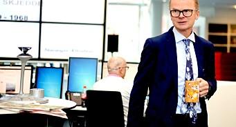 Sjefredaktør Lars Helle i Stavanger Aftenblad advarer Forbrukerombudet mot «å leke medieombud»