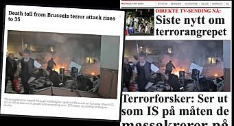 NTB Scanpix beklager - og vil «slå hardt ned på» falskt terrorbilde