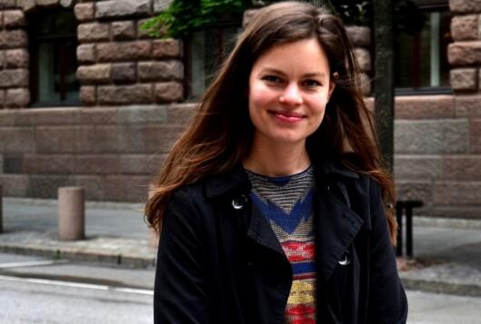 Frøydis Falch Urbye (28), journalist på Ságats lokalkontor i Karasjok.