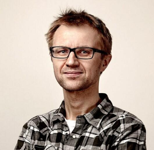Redaksjonssjef Håkon Moslet i NRK P3.