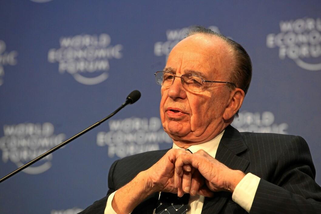 Mediemogul Rupert Murdoch.
