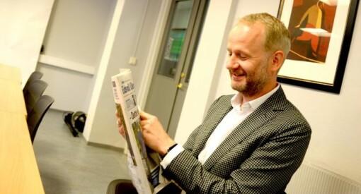 Roger Aarli-Grøndalen (45) blir ny redaktør i fagbladet Journalisten. Kommer fra jobben som redaktør i Eidsvoll Ullensaker Blad