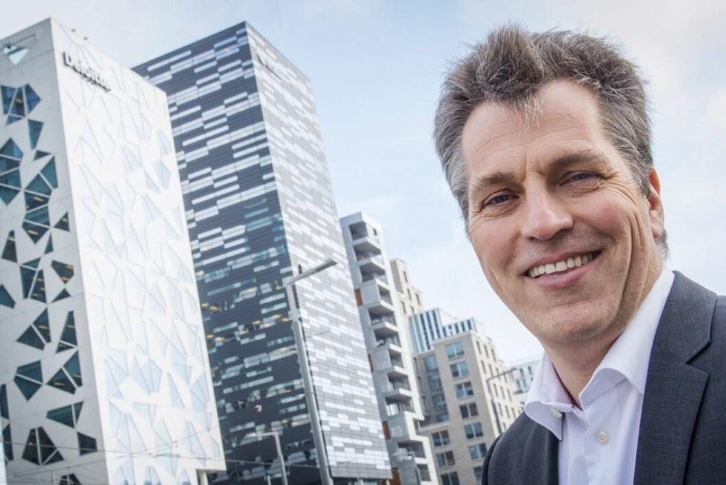 Ole Christian Apeland, sjef og eier av PR-byrået Apeland.