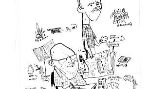 Sven Egil Omdal og Halvor Hegtun har skrevet en selvironisk og alvorlig rapport om norsk journalistikk