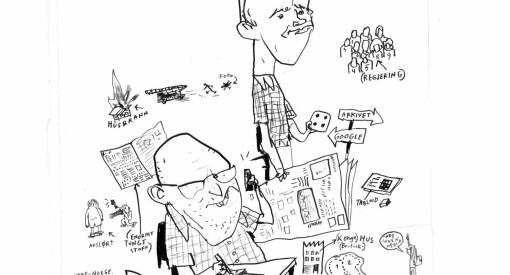 Omdal & Hegtun har skrevet en munter beskrivelse av forfallet, på vei mot journalistikkens nye gullalder