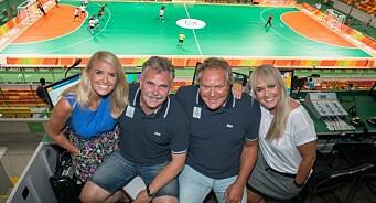 Knallstart for TV 2s OL-sendinger. 700.000 var innom håndballoppgjøret mellom Norge og Brasil