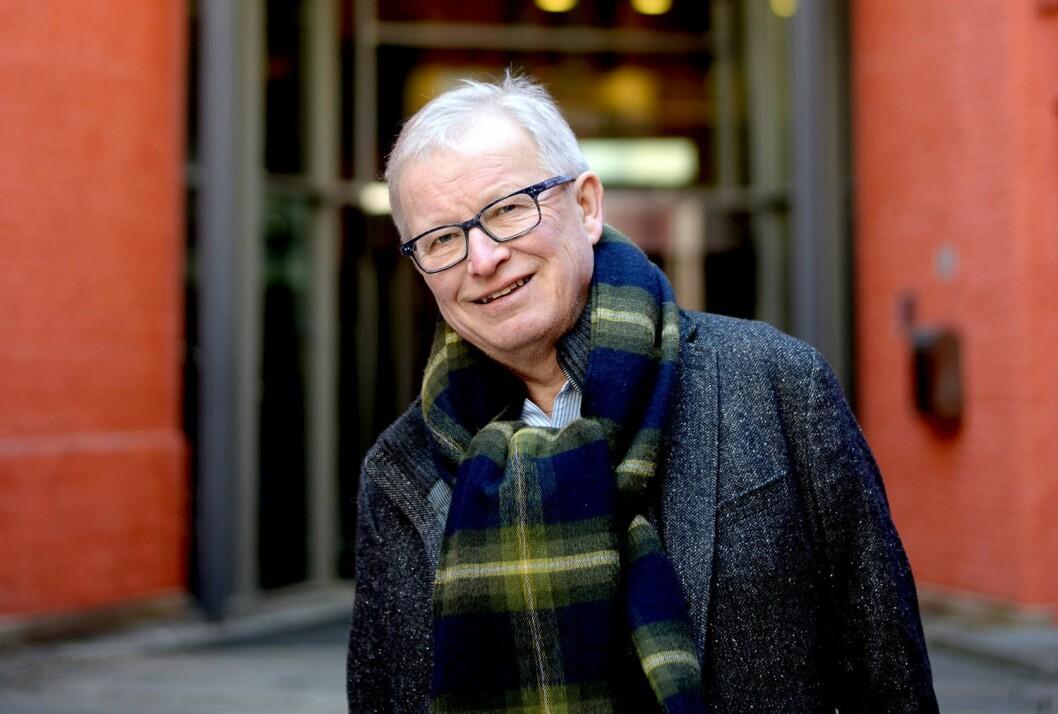 Bernt Olufsen, tidlegare sjefredaktør i VG.