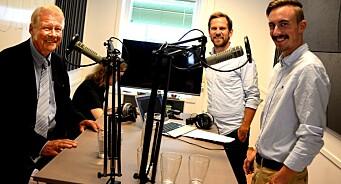 Fra den ene podkasten til mange andre: Stig Arild og Ingerid starter «Podster Produksjon»