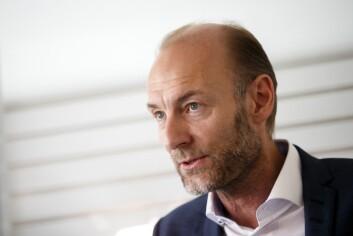 KNUT OLAV ÅMÅS, administrerende direktør for Stiftelsen Fritt Ord.
