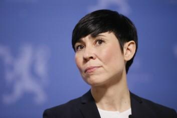 Forsvarsminister Ine Marie Eriksen.