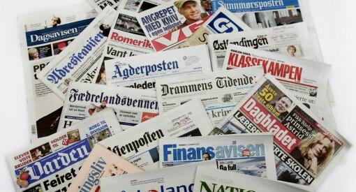 Jeg kjenner innerst inne at lørdagsavisene fortsatt er best på papir. Men vet Kvikkas hvor langt dette landet er?