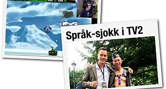 Tabbedag i TV-bransjen: TV 2 publiserte tullesak med BDSM-bilde. Mens NRK  Debatt strømmet gaming på Facebook