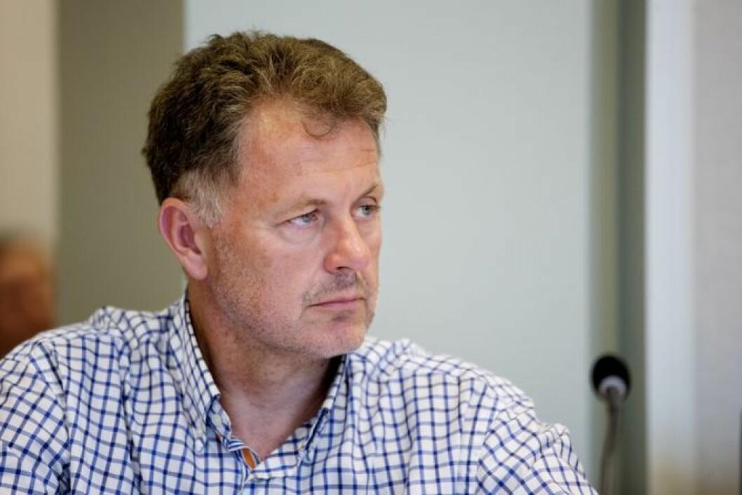 Sjefredaktør Gunnar Stavrum i Nettavisen.