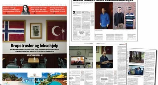 Fem sider om Gülen uten et eneste spørsmål om penger. Har Morgenbladet finansfobi?