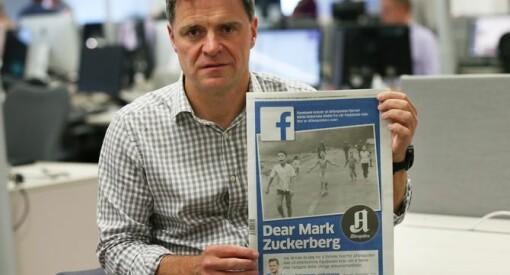 Mark stiller ikke selv - men nå kommer Facebook til Norge for å møte norske redaktører og kulturministeren til debatt