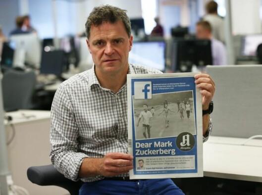 Aftenpostens sjefredaktør Espen Egil Hansen ledet an den globale kritikken mot Facebooks sensur av Vietnam-bildet.