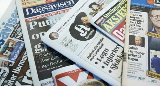 Mediehusenes lesertall: VG størst totalt - Aftenposten størst på papir