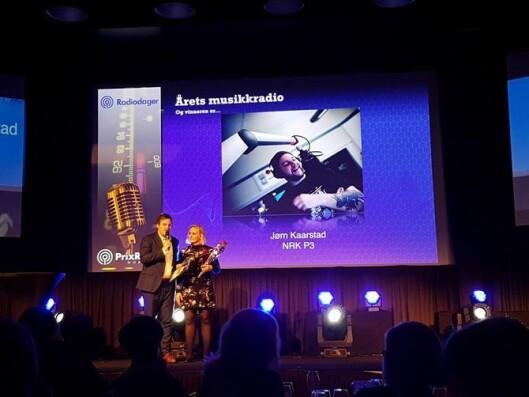 Fra prisutdelingen under Prix Radio i fjor. Arkivfoto.