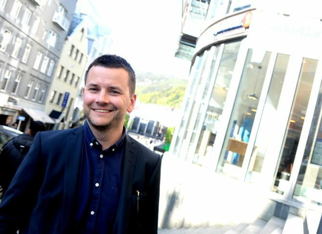 Øyulf Hjertenes, ansvarlig redaktør og adm. direktør i Bergens Tidende