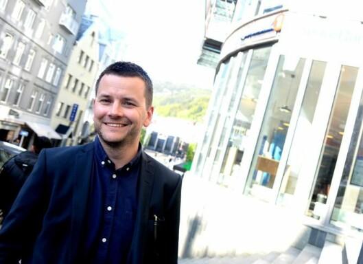 Øyulf Hjertenes, ansvarlig redaktør og direktør i Bergens Tidende.