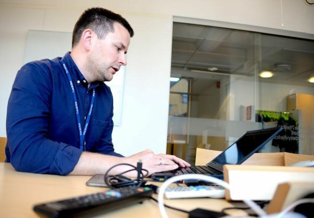 Øyulf Hjertenes, ansvarlig redaktør i Bergens TIdende.