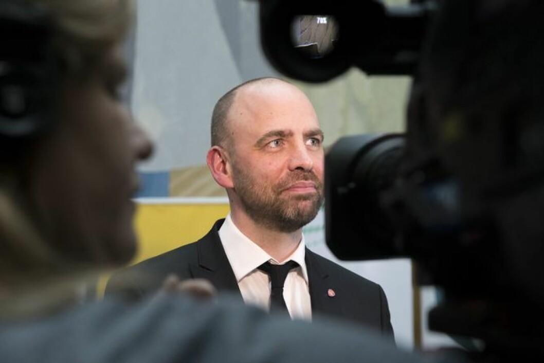 Arild Grande, mediepolitisk talsmann i Ap.