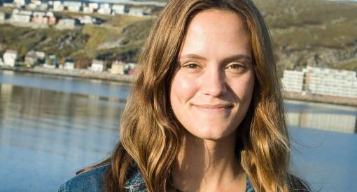 Rett fra skolebenken: Line Haglund (26) ansatt som ny journalist i Finnmark Dagblad