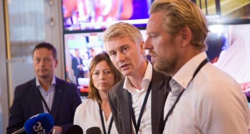 Milliarder til sport har spist opp nesten hele overskuddet. Men TV 2 skal fortsatt være med på festen, lover Olav Sandnes