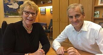 Anne Grosvold har meldt seg inn i Arbeiderpartiet. Det vil hun helst ikke snakke om når Nettavisen spør
