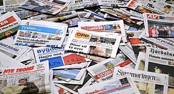 Effektivisering, digitalisering og fallende annonseinntekter. Dette rammer også lokalavisene. Har vi fortsatt trua?