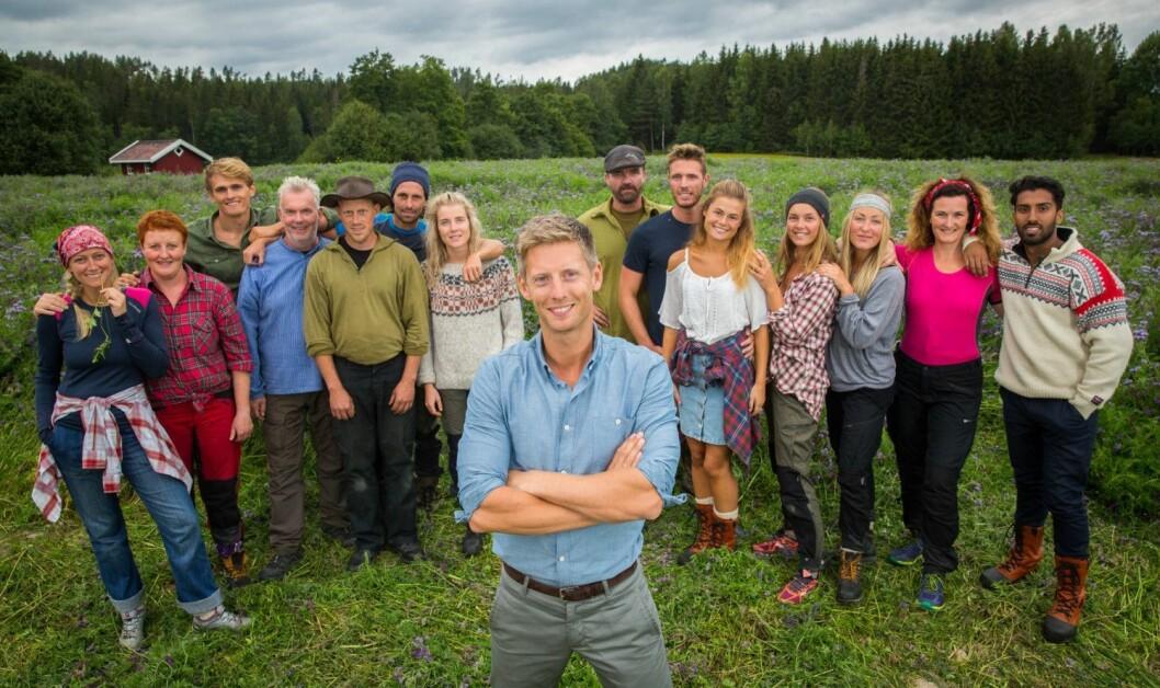 Farmendeltakerne i 2016. Filmforbundet varsler streik, som kan gå utover årets utgave av programmet.