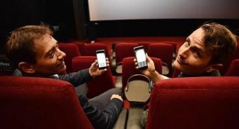 Nordisk Film lanserer «KinoSpill» - som du kan spille på mobilen mens du venter på filmen, og se resultatet på skjermen