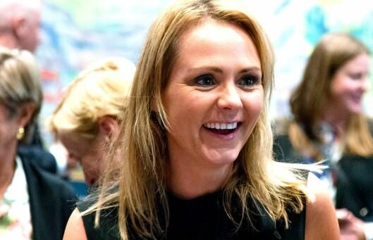 Kulturminister Linda Hofstad Helleland (H).