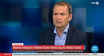 Nobel-tabbe fra NRK - publiserte en av flere «kladder» som var klare om potensielle fredsprisvinnere