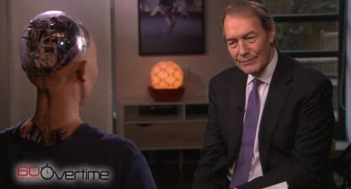 60 Minutes gjør sitt første intervju med en robot - korrespondenten Charlie Rose intervjuer «Sophia»