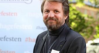 Forfatter Tom Egeland er skuffet over at det ikke ble noen avklaring om momsfritak for ebøker: