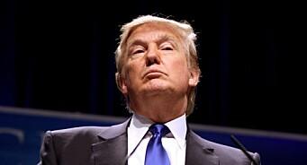 «Skal dere rakke ned på oss Trump-tilhengere, vil jeg slippe å betale lisensen!»